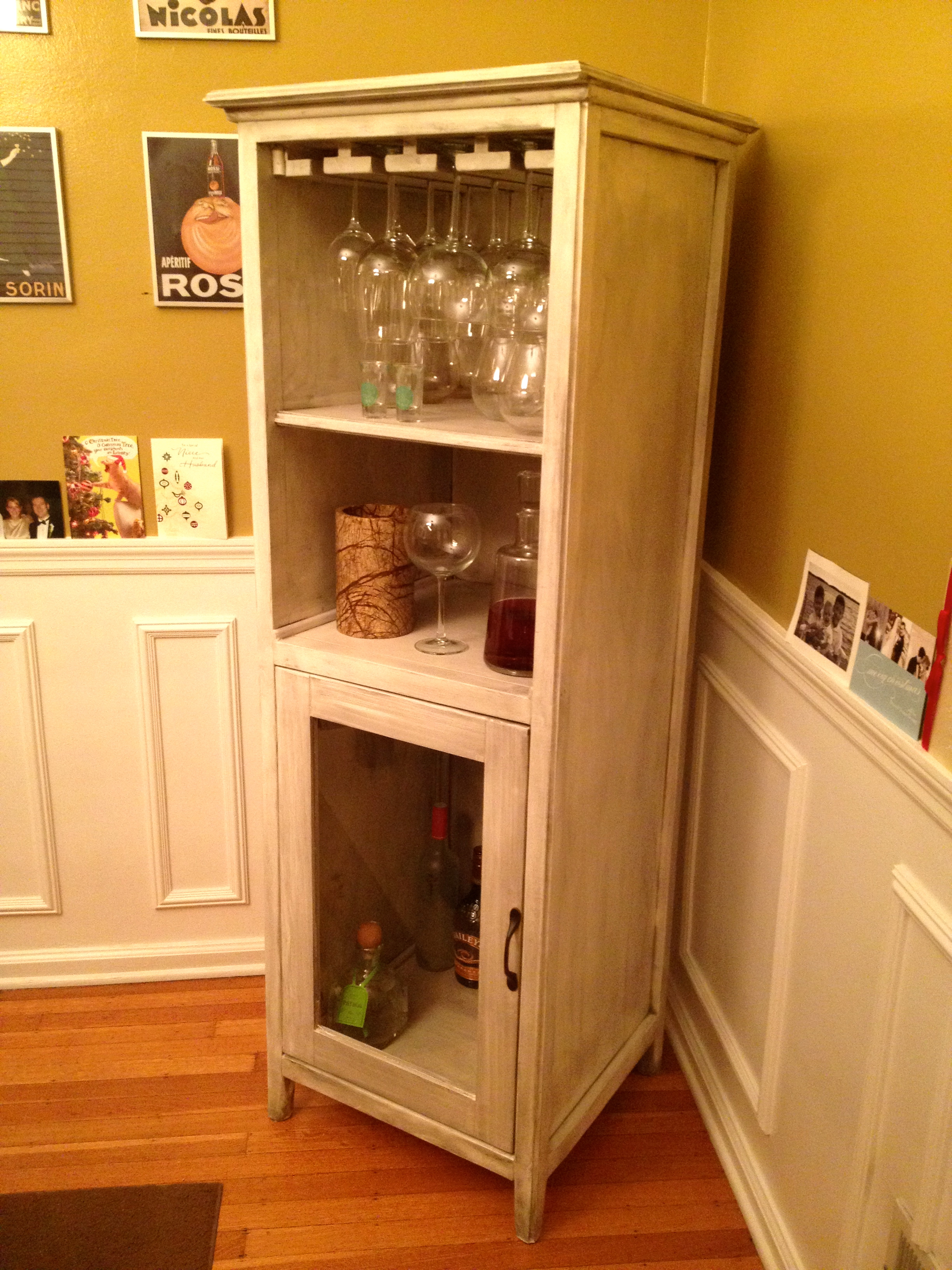 How To Build A Wine And Liquor Cabinet