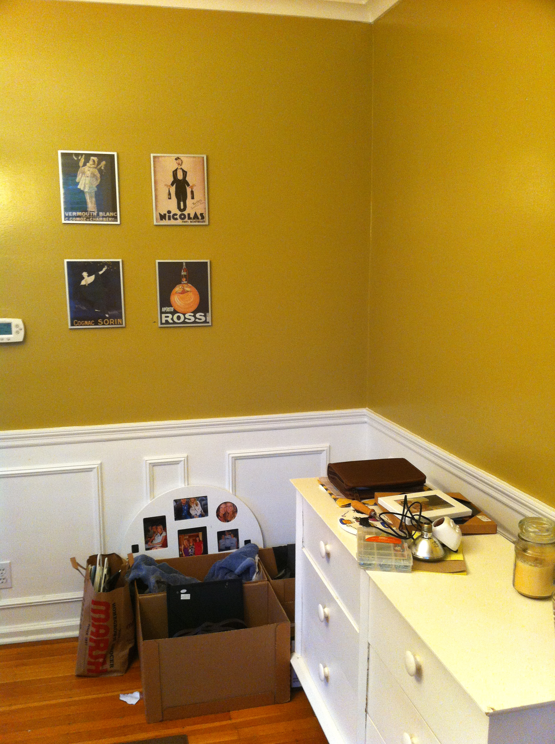 Light yellow wall paint - Another Early Picture